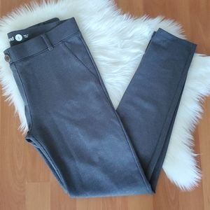 Betabrand gray pull on legging pants size Small